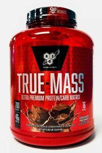 BSN True-Mass Protein Lean Muscle Mass Gainer 5.82 lbs Chocolate Milkshake