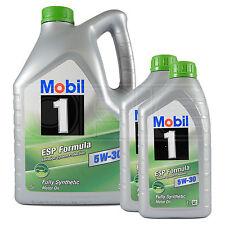 Mobil 1 ESP Formula 5W-30 Fully Synthetic Engine Oil Mobil1 5L + 2x1L 7 Litres