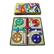 MINI TRAVEL MAGNETIC COMPACT LUDO BOARD GAME AND PIECES - FOLDS AWAY