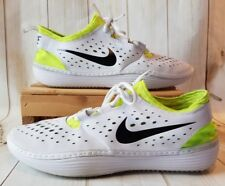 9b4bd0af DS Nike Solarsoft Moccasin Costa Low White/Neon Green Men Size 11M #531389  103