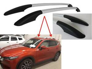MAZDA CX-5 2018+ ROOF RAILS IN SILVER COSMETIC ONLY - NON LOAD BEARING - 4625934