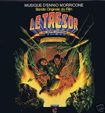 LP ENNIO MORRICONE LE TRESOR DES QUATRE COURONNES/TRESURE OF THE FOUR CROWNS