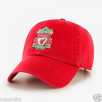 Liverpool FC Official Cap Hat Black Red Gift