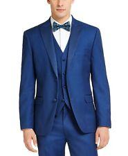 Alfani Men's Slim-Fit Stretch Tuxedo Jacket 44L Blue