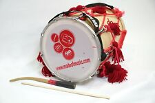 More details for bhangra dhol drum junior size 14