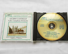 Guido CANTELLI-N.B.C. S.O.1953 / SCHUBERT Symphony 8 & 9 ITALY CD AS Disc (1989)
