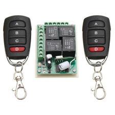 2pcs 315MHZ Funk Fernbedienung Wireless Handsender mit Empfänger Garagentor