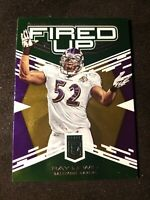 2017 Elite Fired Up Green #22 Ray Lewis - NM-MT Baltimore Ravens
