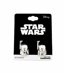 Space Action Syfy Movie Star Wars Sith Bounty Hunter Boba Fett Earrings