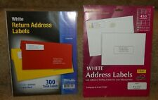New listing 750 Blank Address Labels 2 Packages