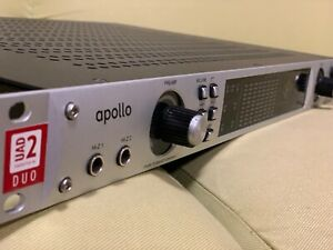 Universal Audio Apollo DUO - FireWire Audio Interface w Real Time Processing