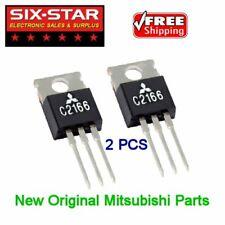 CB HAM RADIO NEW ORIGINAL REPAIR PARTS - 2SC2166 Mitsubishi (ECG-235) -  2 PCS