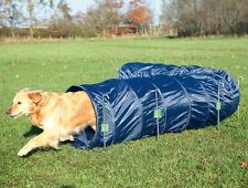 TUNNEL per cani-cane addestramento Agility Tunnel Blu Scuro-Grande 5 METRI Tunnel