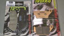 43025600 PASTIGLIE ORGANICHE ANTERIORI TROFEO HONDA 650 FX VIGOR 1999