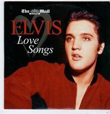 (FI458) Elvis, Love Songs - The Mail CD