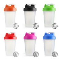 400ML Protein Shake Drink Mixing Shaker Cup Blender Mixer Diet Nutrition Cup