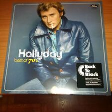 LP JOHNNY HALLYDAY BEST OF 70's MERCURY 5382236 SIGILLATO EU PS 2018