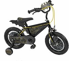 Batman 14-Inch Ride on Kids Outdoor Garden Boys Bike Bicycle with Stabilisers