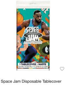 NBA Space Jam LEBRON JAMES Party Supplies Table Cover PLATES Napkins BUGS BUNNY