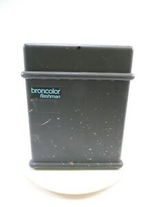 Broncolor Flashman 2 Generator being sold AS IS for Parts, condition is unknown