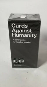 Cards Against Humanity V2.0 UK Edition Card Game With 4  Extension Packs