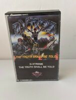 Vintage Cassette Tape D-xtreme The Truth Shall Be Told 1990 Silenz Records Metal