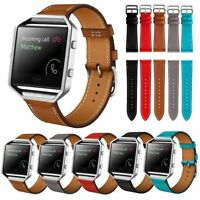 Luxury Leather Watch Band Wrist Strap Bracelet For Fitbit Blaze Smart Watch