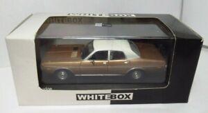 White Box Model Car World Germany Import 1973 4 Door Dodge Coronet Gold Met 1/43