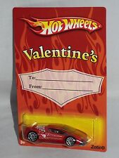 Hot Wheels 2008 Valentine's Day Series Zotic Red w/ 10SPs