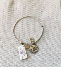 Alex And Ani Tree Hugger Bracelet In Silver