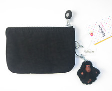 NWT Kipling AC3676 Creativity Small Coin Pouch & Organizer 0BK *BLACK*