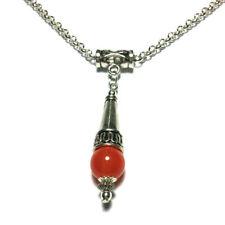 Beauty Glass Round Costume Necklaces & Pendants