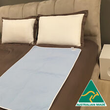 Washable incontinence bed pad, absorbent, waterproof ALL SIZES