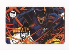 Joe Quesada Autograph ASH Dynamic Entertainment Phone Card 1995