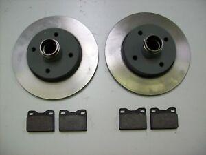 Porsche 924 2,0L Satz Bremsscheiben + Klötze vorn 76-85 brake disc