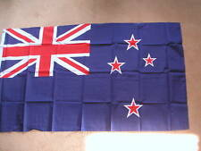 NEW ZEALAND FLAG 3 x 2 BRAND NEW EYELETS POLYESTER POSTFREE IN UK