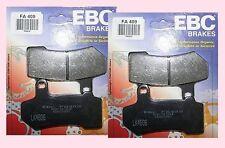 2 X conjuntos Ebc Fa409 Delantera Pastillas De Freno Harley Davidson Vrod V Rod V-rod 2006-12