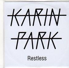 (ED812) Karin Park, Restless - DJ CD