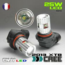 2 AMPOULE LED HB3 9005 CREE XTB 25W 6000K BLANC 12V ANTI BROUILLARD FOGLIGHT