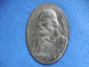 placca generale Giuseppe Garibaldi 115x160mm