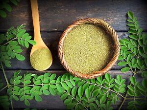 Organic Moringa Powder Green Leaf Oleifera 100% Pure Natural Free Shipping