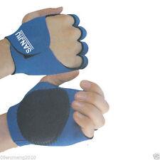 Rock Climbing Cycling Gel Bike Sport Half-Finger Gloves Brace support blue SP14A