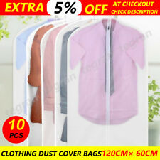 10x Suit Cover Bags - Jacket Garment Storage Coat Protector Clothes Dress