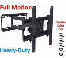 "TV Wall Mount Full Motion Tilt Swivel Flat Screen Bracket 32 40 42 47 50 55"" LED"