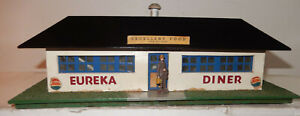 American Flyer Rare Neon Blue 1952 Version 275 Eureka Diner Close To New