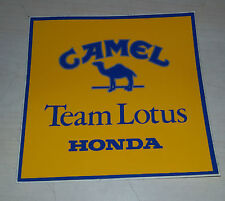 Adesivo Sticker CAMEL Team Lotus Honda  cm 9,5 x 10 circa Perfetto