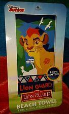 "DISNEY JUNIOR THE LION GUARD BEACH/BATH TOWEL 28"" X 58"""