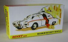 Repro Box Dinky Nr.105 MaximumSecurity Vehicle