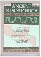 ANCIENT MESOAMERICA - Vol. 5, No. 1 -  Ausgabe Spring 1994 - englischer Sprache