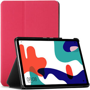Huawei MatePad 10.4 Case Cover Stand, Auto Sleep Wake by FC - Pink + Stylus